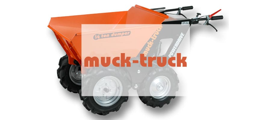 muck-truck motorized wheelbarrows-markham-dealer
